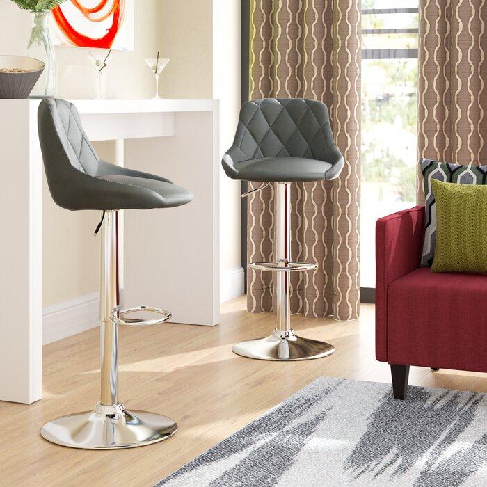 Fantastic Acamar Adjustable Height Swivel Bar Stool Beatyapartments Chair Design Images Beatyapartmentscom