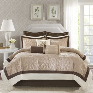 Darby Home Co Kristie 9 Piece Comforter Set