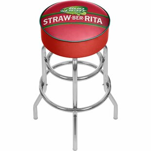 Bud Light Straw-Ber-Rita Swivel Bar Stool Trademark Global
