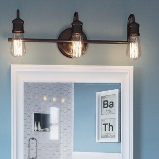 Okehampt 3-Light Vanity Light By Williston Forge Wall Lights