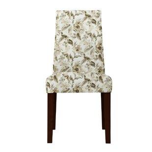 Latitude Run Haddonfield Green/Beige Side Chair (Set of 2)