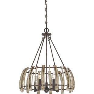 Vigna 5-Light Drum Lantern Pendant by Gracie Oaks