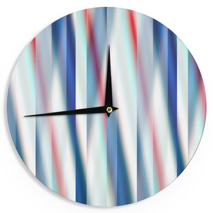 Bruce Stanfield 'Ambient 12' 12 Wall Clock by East Urban Home
