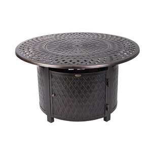 Verona Aluminum Propane Fire Pit Table