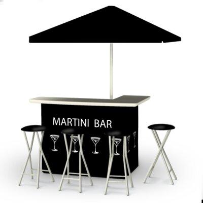 Potawatomi 8 Piece Bar Set by Winston Porter No Copoun