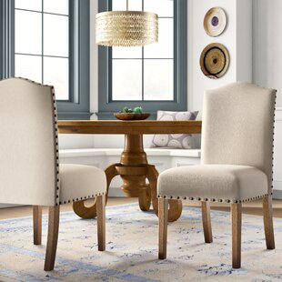 Isla Upholstered Dining Chair (Set of 2) Mistana