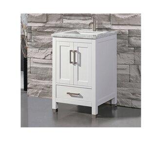 Peralez Modern 24 Single Bathroom Vanity Set by Brayden Studio