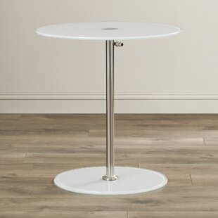 Wilbert Glass End Table by..