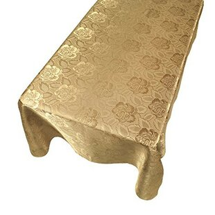 Affordable Price Salonis Rose Damask Fabric Tablecloth By Astoria Grand