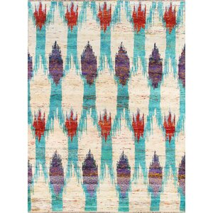 Venice Hand Knotted Silk Transitional Area Rug