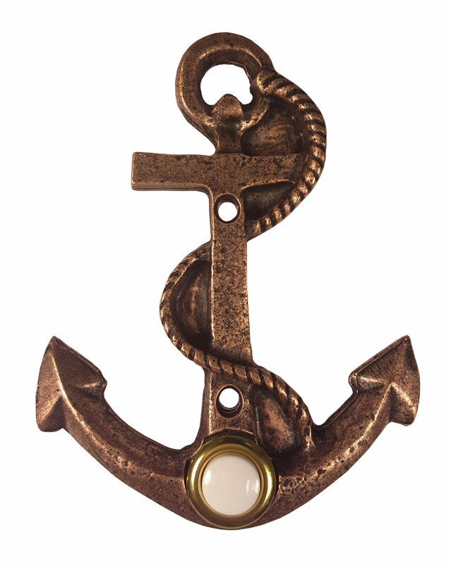 Anchor Door Bell  sc 1 st  Wayfair & Longshore Tides Anchor Door Bell u0026 Reviews | Wayfair