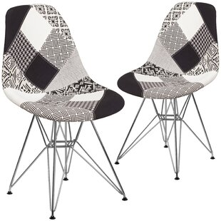 Ressler Curved Side Chair (Set of 2) by Wrought Studio
