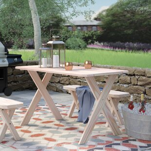 Places to buy  Sheep Mountain Pine Cross-leg Picnic Table Online Reviews