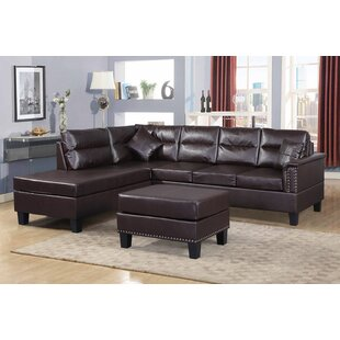 Awesome Adalwen Sectional Sofa With Ottoman
