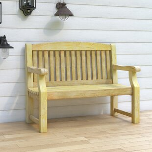 Gosnold Wooden Bench By Sol 72 Outdoor