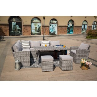 Callendale 8 Seater Rattan Corner Sofa Set By Sol 72 Outdoor