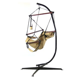 Rhianna Polyester Chair Hammock with Stand by Freeport Park