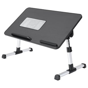 Foldable Portable Multifunction Laptop Desk Large Bed Tray Lazy Laptop Tables US