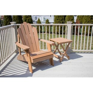 Rosecliff Heights Esposito Ironwood Adirondack Chair