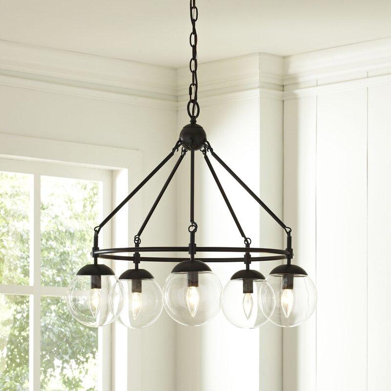 Birch lane cranston 5 light candle style chandelier reviews cranston 5 light candle style chandelier audiocablefo