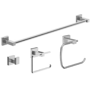 Great choice Duro 4-Piece Bathroom Accessory Set By Symmons