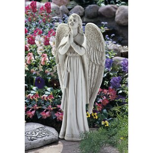 Divine Guidance Praying Angel Statue By Design Toscano
