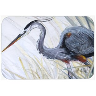 Heron Frog Huntg Kitchen/Bath Mat