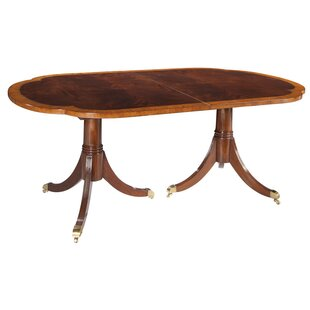 Cromer Pedestal Extendable Dining Table