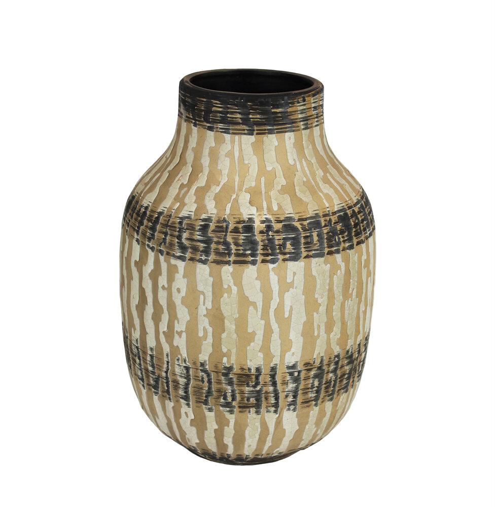 Bloomsbury Market Mebane Ceramic Bellied Table Vase Wayfair