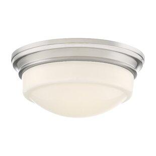 Top Reviews Endo 1-Light LED Flush Mount By Charlton Home