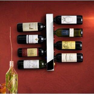 Blast 8 Bottle Wall Mounted Wine Rack
