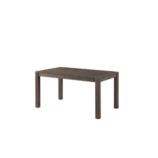 Gracie Oaks Benat Solid Wood Dining Table