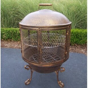 Feast Cast Iron Wood Burning Pagoda by Oakland Living