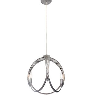 Varaluz Casablanca 3-Light Globe Chandelier