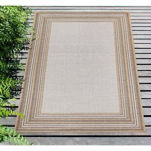 Desantiago Gray Indoor/Outdoor Area Rug