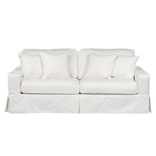 Best Reviews Elsberry Box Cushion Sofa Slipcover by Darby Home Co Reviews (2019) & Buyer's Guide