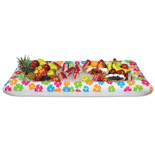 150 Qt. Inflatable Luau Buffet Ice Chest Cooler