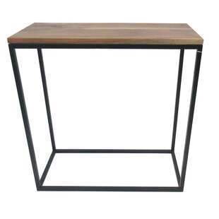 Wood and Iron End Table by BIDKhome