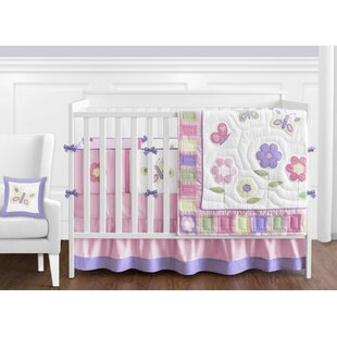 Erfly 9 Piece Crib Bedding Set