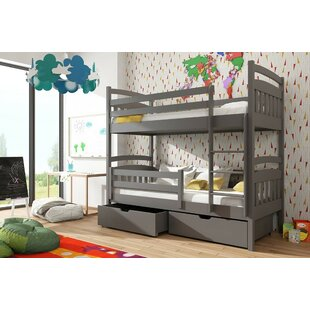 Lambert Single (3') Bunk Bed With Drawers By Harriet Bee