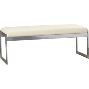 Walhalla Upholstered Bench By Wade Logan