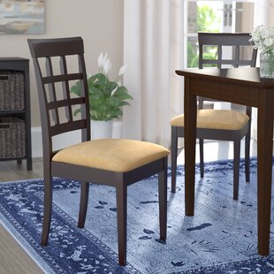 Criner Back Side Upholstered Dining Chair (Set of 2)