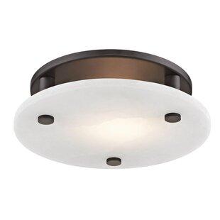 Latitude Run Owen 1-Light LED Flush Mount