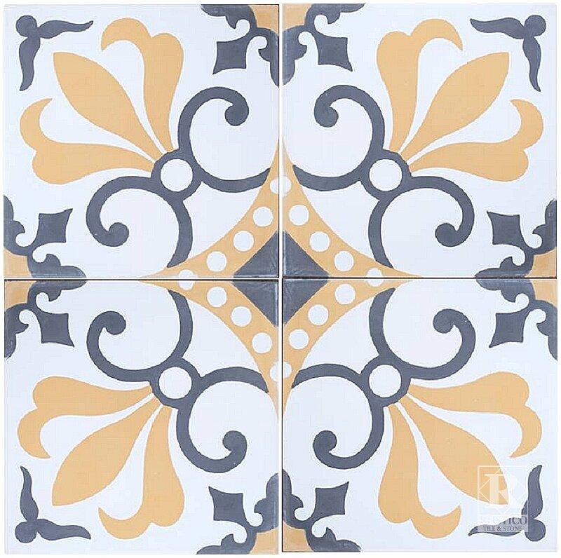 Mealu 8 X Cement Field Tile In