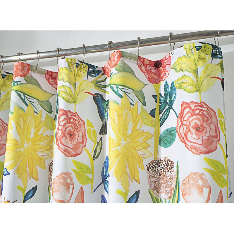 Sumter Classic Tropical Single Shower Curtain