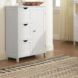 Jeb 23.6'' W x 31.9'' H x 11.8'' D Free-Standing Bathroom Cabinet by Rosecliff Heights