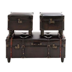 Cole & Grey 3 Piece Lift Top Coffee Table Set