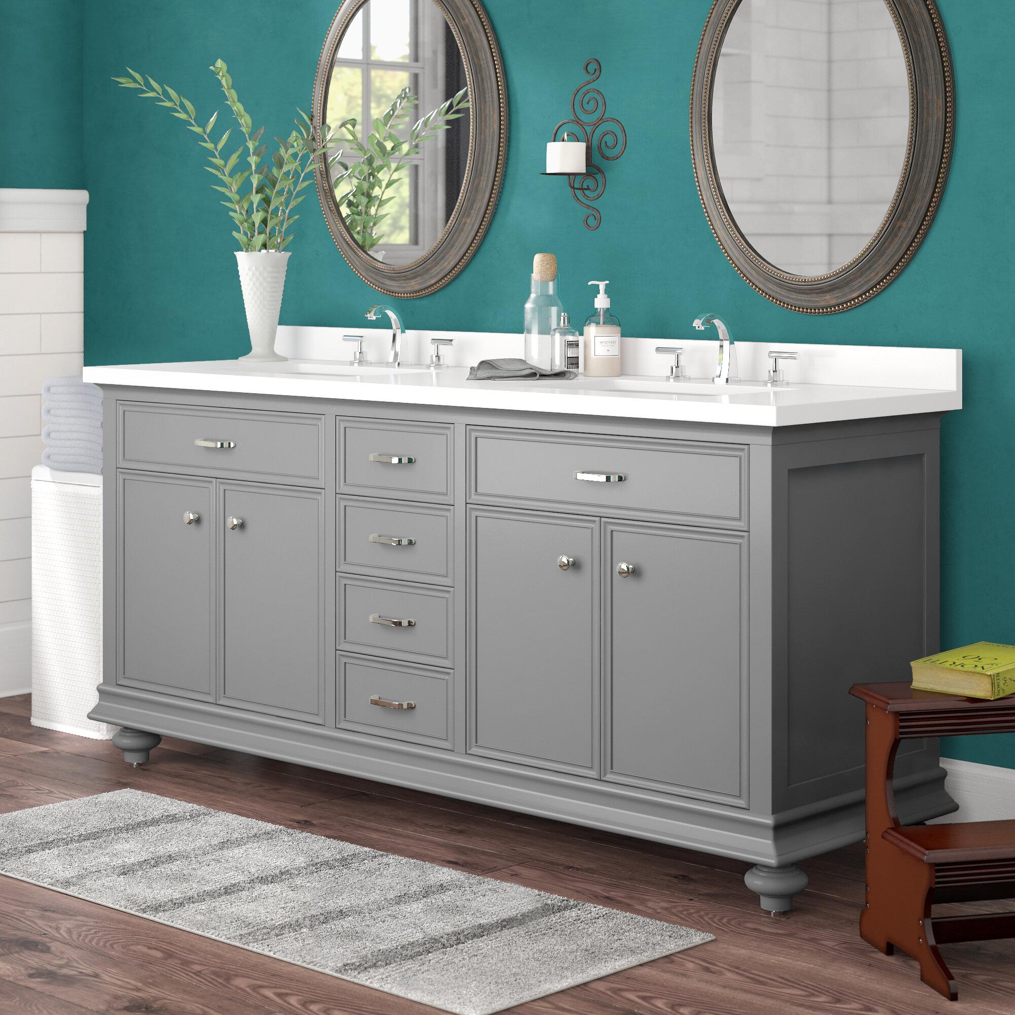 Alcott hill weisner 72 bathroom vanity set reviews wayfair