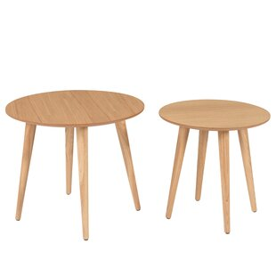 Carrasco 2 Piece Nest Of Tables By Norden Home