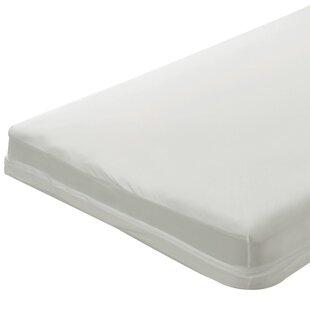 1 Zippered Natural Cotton Crib Mattress Cover ByBargoose Home Textiles